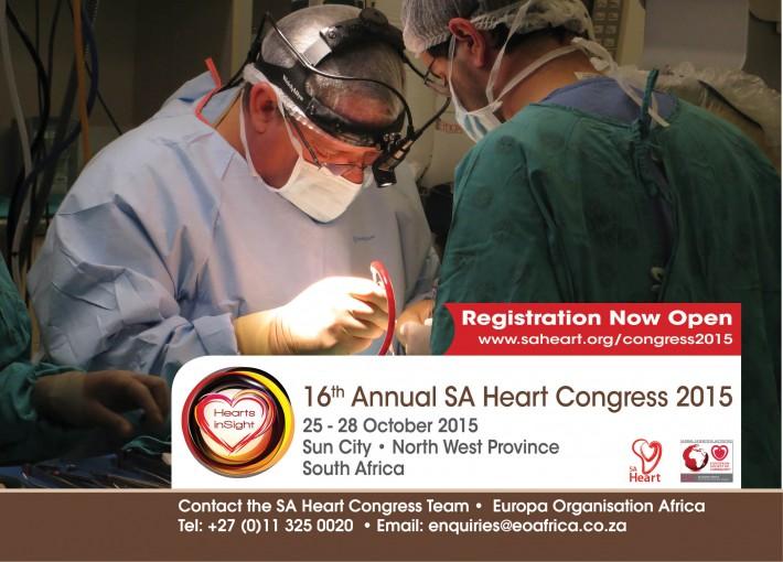 16th Annual SA Heart Congress 2015   25 - 28 October 2015